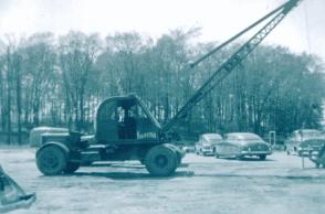 One of our original cranes - 1951