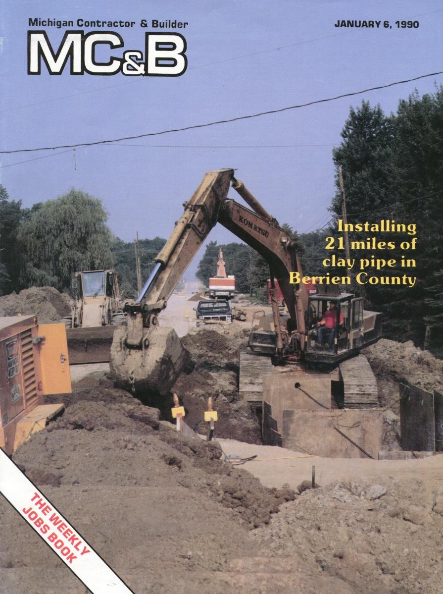 Michigan Contractor & Builder Magazine - Berrien County - 1990