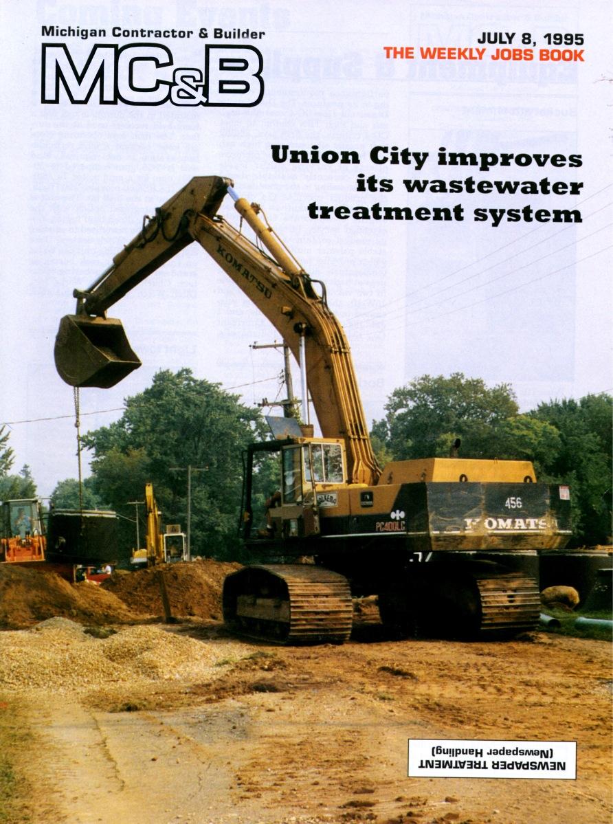 Michigan Contractor & Builder Magazine - Union City - 1995