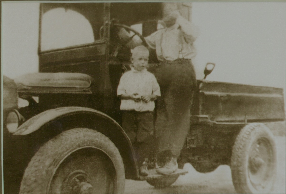 Rudolphus Balkema, Founder, on the job in 1926